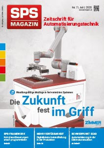 Heft-Cover SPS-MAGAZIN
