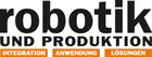 Logo-Marke Robotik und Produktion